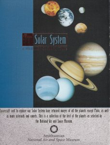 Smithsonian Air & Space Museum Planets Solar System 12 Postcard s