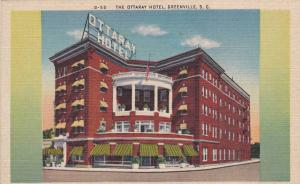 The Ottaray Hotel, Greenville, South Carolina, 30-40s