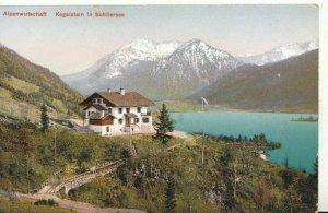 Germany Postcard - Alpenwirtschaft - Kegelstein in Schliersee - Ref TZ7918