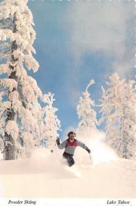 Powder Skiing - Lake Tahoe, Nevada