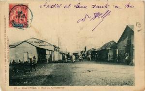 CPA MAJUNGA Rue du Commerce MADAGASCAR (709636)