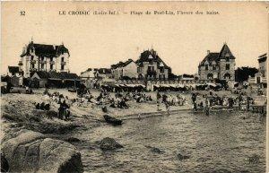 CPA Le Croisic (Loire-Inf.) - Plage de Port-Lin, l'heure des bains (587430)