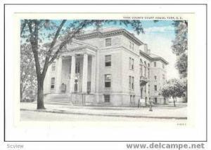 York County Court House,York,South Carolina,00-10s