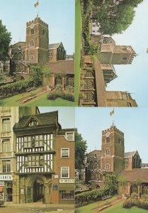 London Priory Church Of St Bartholomew The Great 4x Postcard s