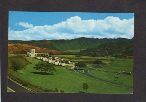 HI Gardens of the Missing Korean War Punchbowl Crater Honolulu Hawaii Postcard