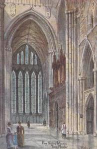 AS; T. Guy; YORK, Yorkshire, England, United Kingdom; Five Sisters Window, Yo...