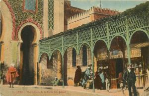 Morocco Fez Fes Porte Bou Jeloud Store Shop Magasin Boutique