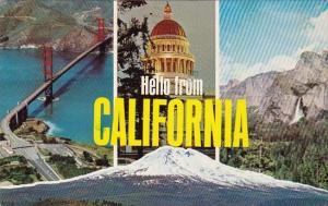 Hello From California Yosemite National Park Carlifornia