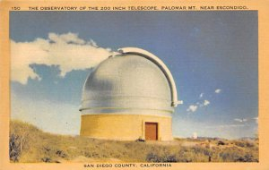 The observatory of the 200 inch telescope CA, USA Space Unused