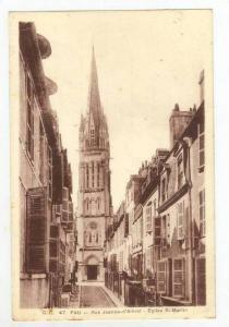 Rue Jeanne-d'Albret, Eglise St. Martin, Pau, France, 1900-1910s