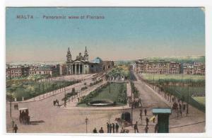 Panorama Floriana Malta 1910c postcard