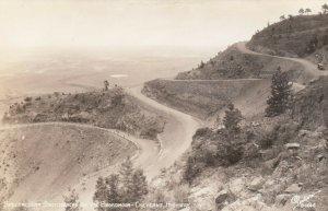 RP, Spectacular Switchback, Broadmoor-Cheyenne Mt. Highway, Colorado, 30s-40s