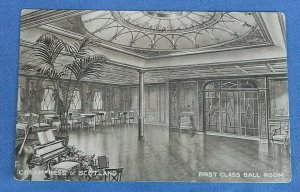 Vintage Postcard C.P.S. Empress Of Scotland First Class Ball Room A1