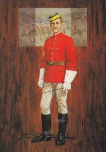 AS:  North West Mounted Police, 1874 First Offical Uniform, Fort Garry, Winni...