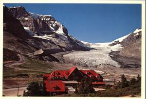 Athabasca Glacier in Jasper National Park - Alberta, Canada