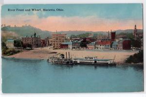 River Front & Wharf, Marietta OH