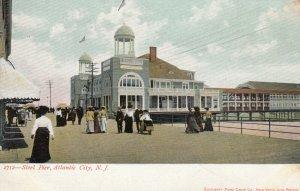 ATLANTIC CITY, New Jersey, 1901-07; Steel Pier