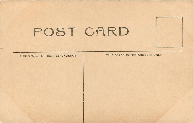 Marysville Kansas~Presbyterian Church~House Next Door~1920s B&W Postcard