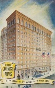NEW YORK CITY , 1930-40s ; Hotel Cornish Arms