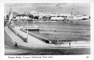 Curacao, Netherlands Antilles Post card Old Vintage Antique Postcard Pontoon ...