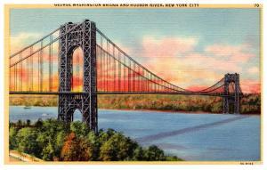 New York  City , George Washington Bridge