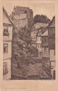 Blick Nach Dem Schloss, MARBURG (Hesse), Germany, 1910-1920s