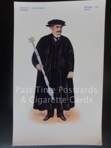 Oxford University Robes: Bedel of Arts - Pub by G.D.O Davis's Oxford