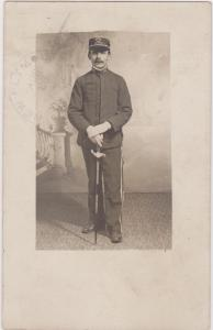 RP; Man in fraternal uniform , PORTLAND , Oregon , PU-1909