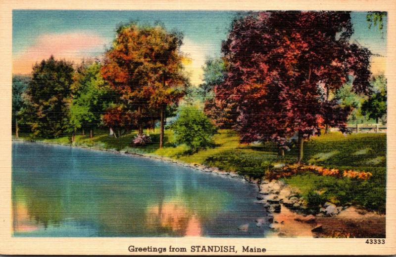 Maine Greetings From Standish