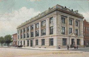 GRAND RAPIDS , Michigan, 1909 ; The New Press Building (Newspaper)
