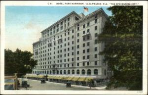 Clearwater FL Hotel Fort Harrison c1920 Postcard