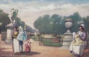 PARIS , France , 000-10s: Jardin des Tuileries      : TUCK