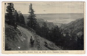 Cheyenne Canon, Colo., Grand View on High drive