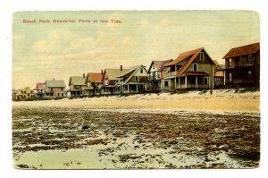 CT - Beach Park. Pools at Low Tide