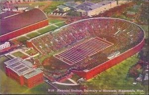 MN Minneapolis University Memorial Stadium 1947