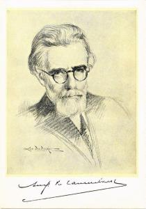 CPA August van Cauwelaert écrivain writer (606739)