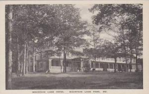Maryland Mountain Lake Park Mountain Lake Hotel Albertype