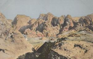 Mountains Of Petra Jordon Arabia Postcard