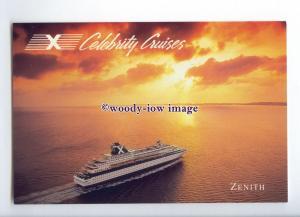 LN1592 - Celebrity Cruise Liner - Zenith , built 1992 - postcard