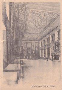 The Governors Hall St Bartholomew Hospital London Old Postcard