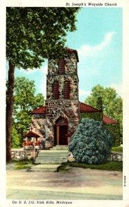 Michigan Irish Hills St Joseph's Wayside Church Curteich