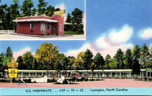 North Carolina Lexington Motel Cavalier