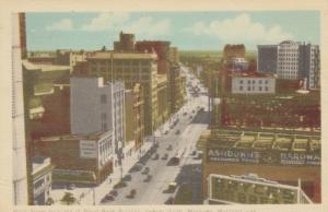 WINNIPEG , Manitoba , 1949 ; From top of Royal Bank Building