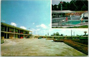 Calhoun, Georgia Postcard DUFFY'S MOTEL & RESTAURANT I-75 Roadside Dated 1975