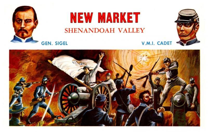 New Market Shenandoah Valley Gen.Sigel  V.M.I.Cadet