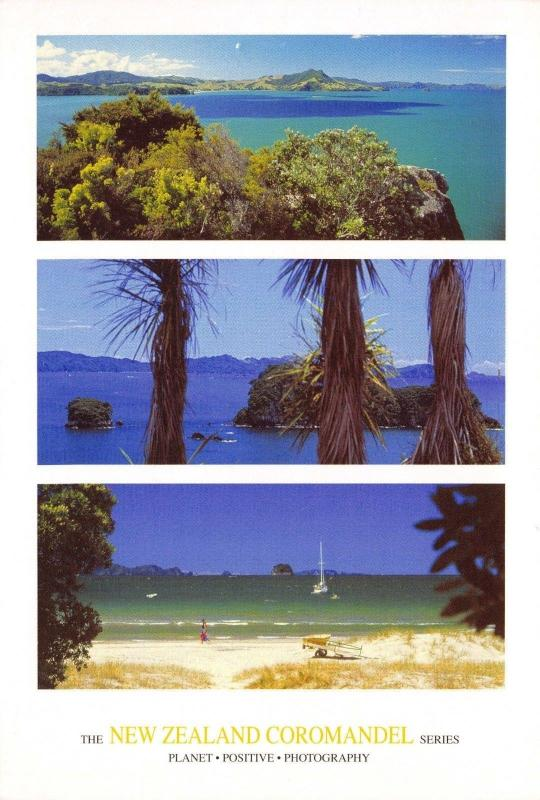 Large Format Postcard NEW ZEALAND Coromandel Series, Waterviews 170x115mm #MC8