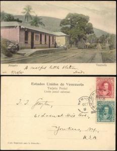 venezuela, MAIQUETÍA, Railway Station (1905) Stamps