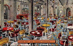 Washington D C Hotel Annapolis Anchor Room 1942