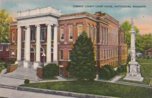 Mississippi Hattiesburg Forrest County Court House