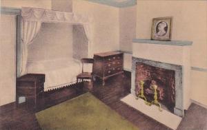 President Madison's Room Monticello Virginia Handcolored Albertype